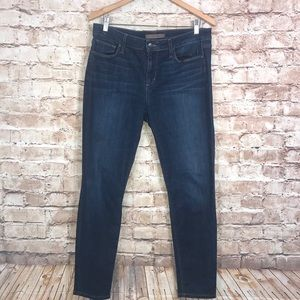 Joe's Jeans Skinny Ankle Abree Dark Wash Sz 32